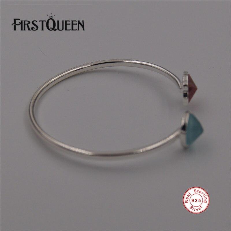47c82f354938 FirstQueen Plata pura 925 Pulseras brazaletes Original joyería de Pulseras  de Mujer de Plata de ley 925