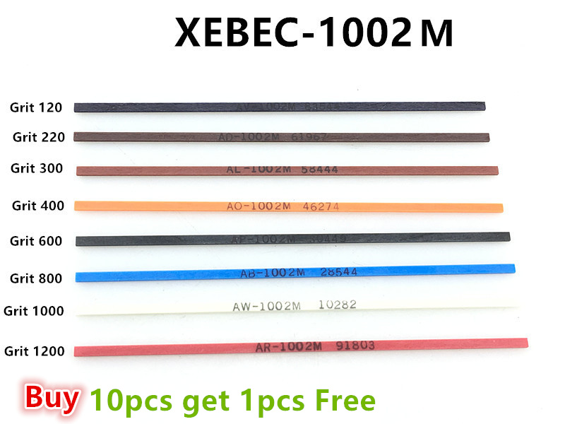 Jrealmer XEBEC-1002M Ceramic Fiber 1*2*100mm Whetstone  Japan Original