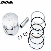 Motorcycle Piston Kit with Pin Rings Clips Set For Honda STEED400 STEED 400 NV400 NV 400 Standard Size