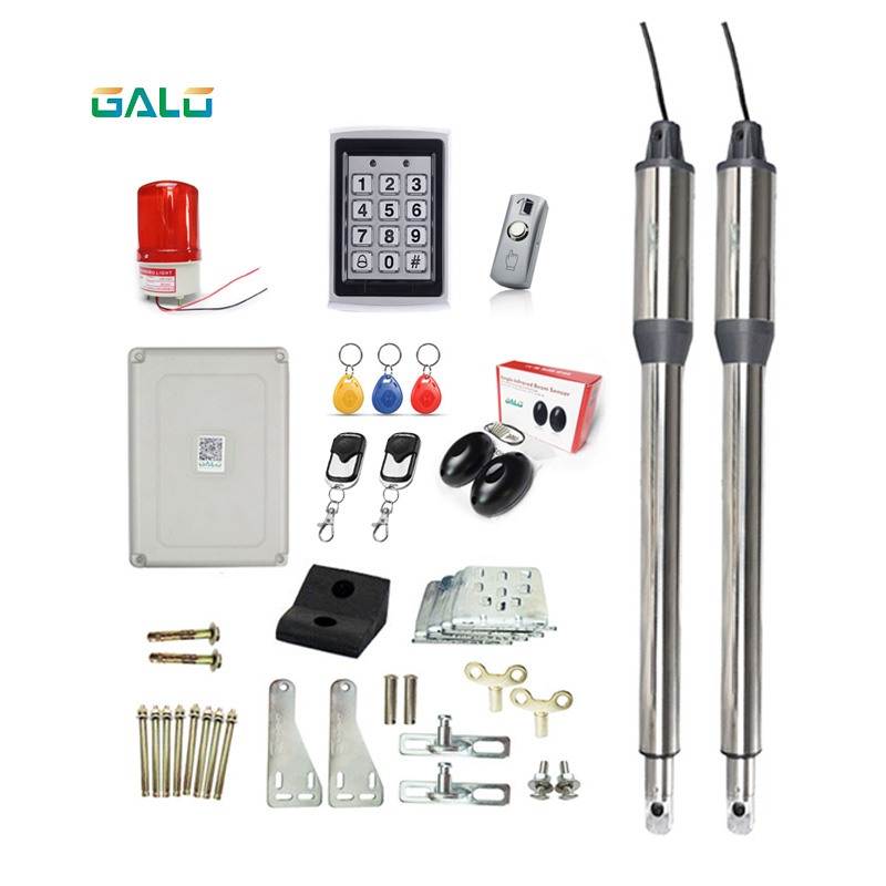 Hardware Dual Automatic Swing Gate Operator Access Control System,swing Gate Opener Dual Arms
