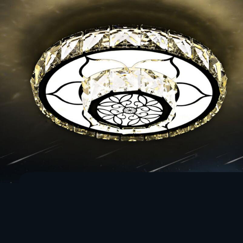 Modern crystal passageway led Chandeliers led lamps Simple High power led chandelier lighting led lustre K9