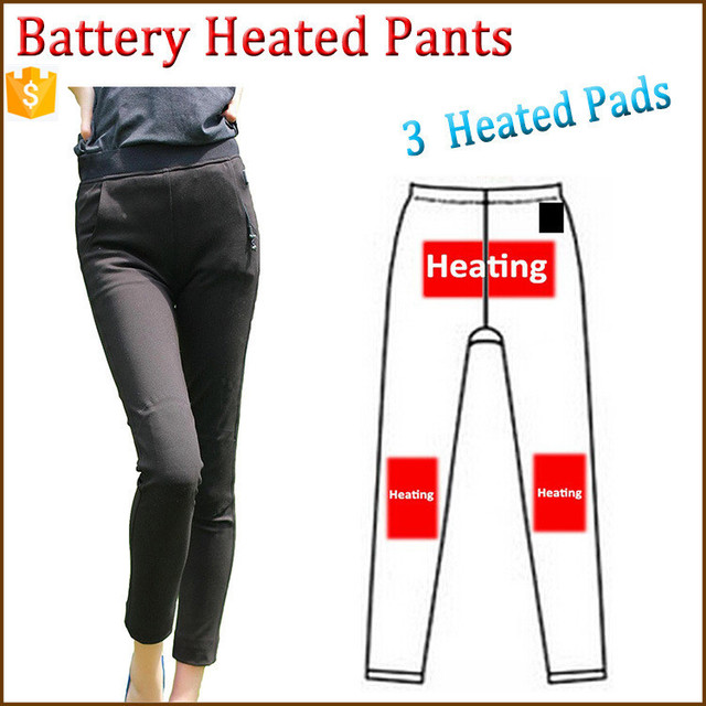 Battery Heated Clothing >> Hot Pencil Pants Women Slim Stretch Leggings Trousers Free Shipping