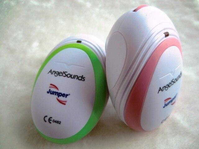 Карманный Мини Фетальный Doppler Angelsounds Плода Узи Сердца Монитор, Наушники и USB кабель Зеленый или Розовый 2 имеющийся цвет
