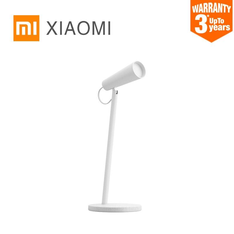 XIAOMI MIJIA Mi LED Tisch Lampe USB lade lesen schreibtisch lampe studie büro tisch licht Tragbare Nacht nacht licht 120 ° rotation