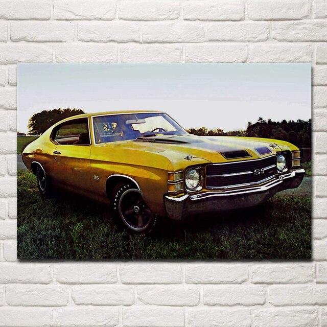 ss retro muscle car kc248 wohnzimmer home wand moderne kunst dekor