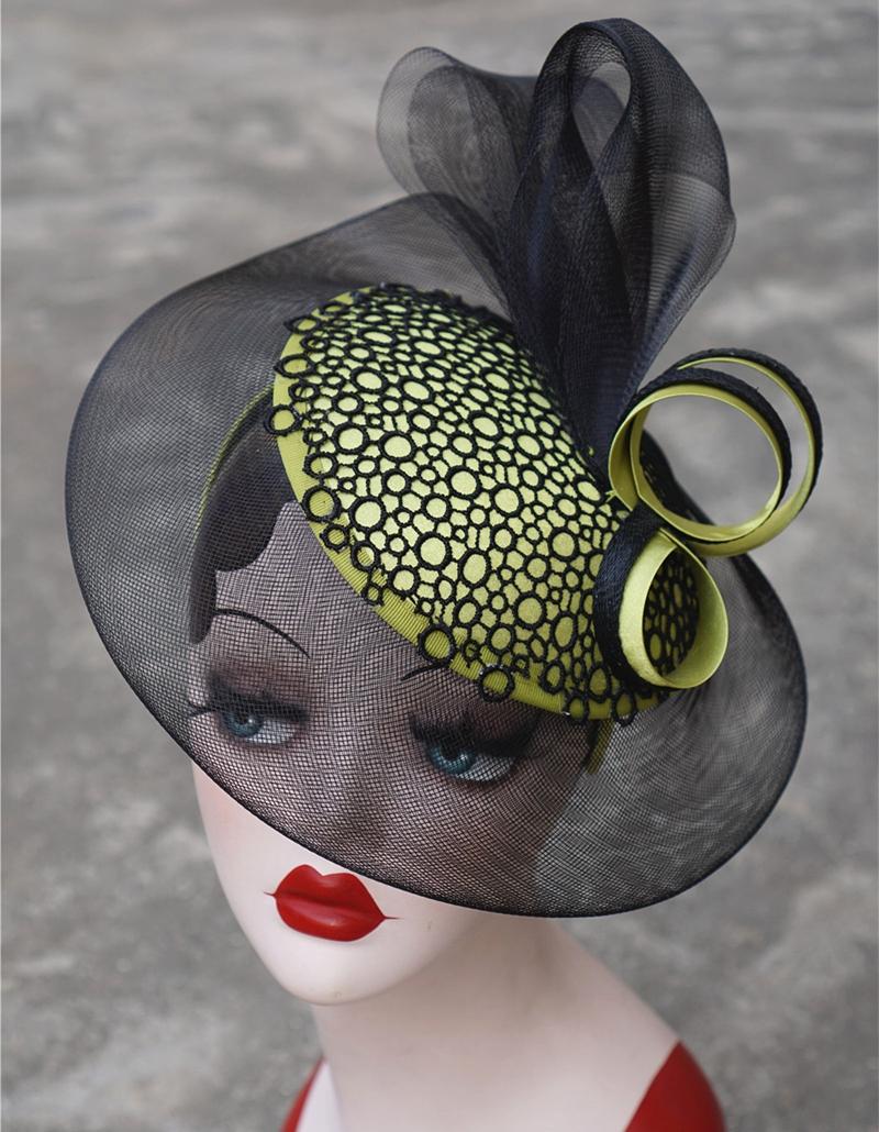 Chapeaux Noir et Vert