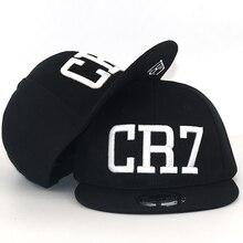 Nueva moda niños Ronaldo CR7 de Neymar NJR gorra de béisbol sombrero niños  niñas MESSI Snapback sombreros de fútbol niños gorros. 14e8f2bc2fd