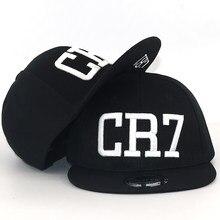 New Fashion Children Ronaldo CR7 cap Neymar NJR Baseball Cap Hat Boys Girls  MESSI Snapback Hats kids football Caps Gorras fce485c25469