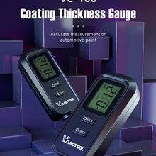VDIAGTOOL VC-100 покрытие Толщина датчик, цифровой прибор для измерения уровня Краски Плёнки для автомобиля Краски Тестер LCD подсветка Толщина покрытие метр