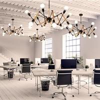 Modern Nordic Chandelier E27 Iron Lampshade Lighting Fixtures