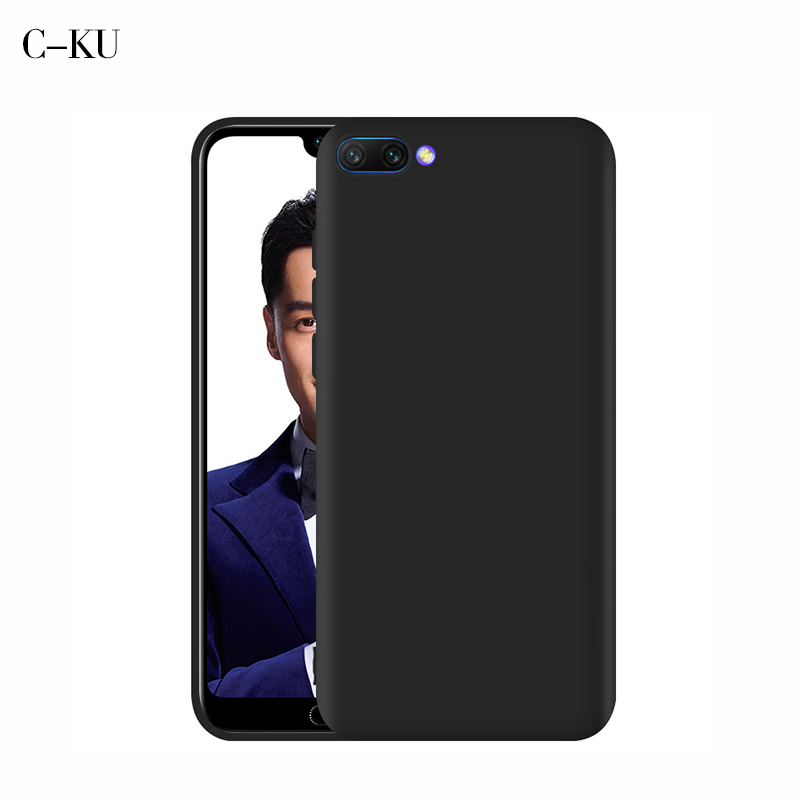 Silicon Case for Huawei <font><b>Honor</b></font> 8c 10 Lite Note 10 Candy Color TPU Soft Matte Back Cover for Huawei <font><b>Honor</b></font> 8x Play 7c 7A <font><b>7x</b></font> 6A Capa image