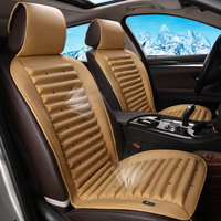 Cooling Car Seat Cover Leather Coussin For Toyota Avensis 2007 Camry 2007 2008 2012 2014 40