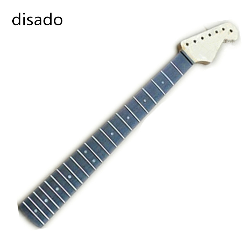 disado musical instruments 21 Frets rosewood fingerboard inlay dots Electric Guitar Neck Wholesale Guitar Parts accessories disado 22 frets inlay dots reverse electric guitar neck wholesale guitar parts guitarra musical instruments accessories