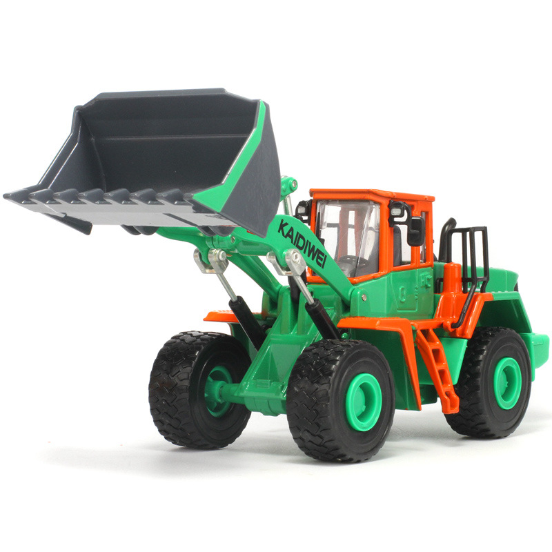 KAIDIWEI Diecast Metal Large Forklift Truck Model Lighting Flashing Forklift Truck Toys For Children, Kids Toy Car Briqnuedos
