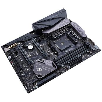 ASUS Used Original CROSSHAIR VI HERO Desktop PC Game Board C6H AM4 Motherboard ROG Used 90%new