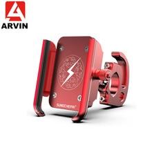 Arvin MTB Cycling Bike Phone Holder Universal Motorcycle Bicycle Bracket Mount For iPhone X XS Huawei Sangsung Mobile Phone GPS цена