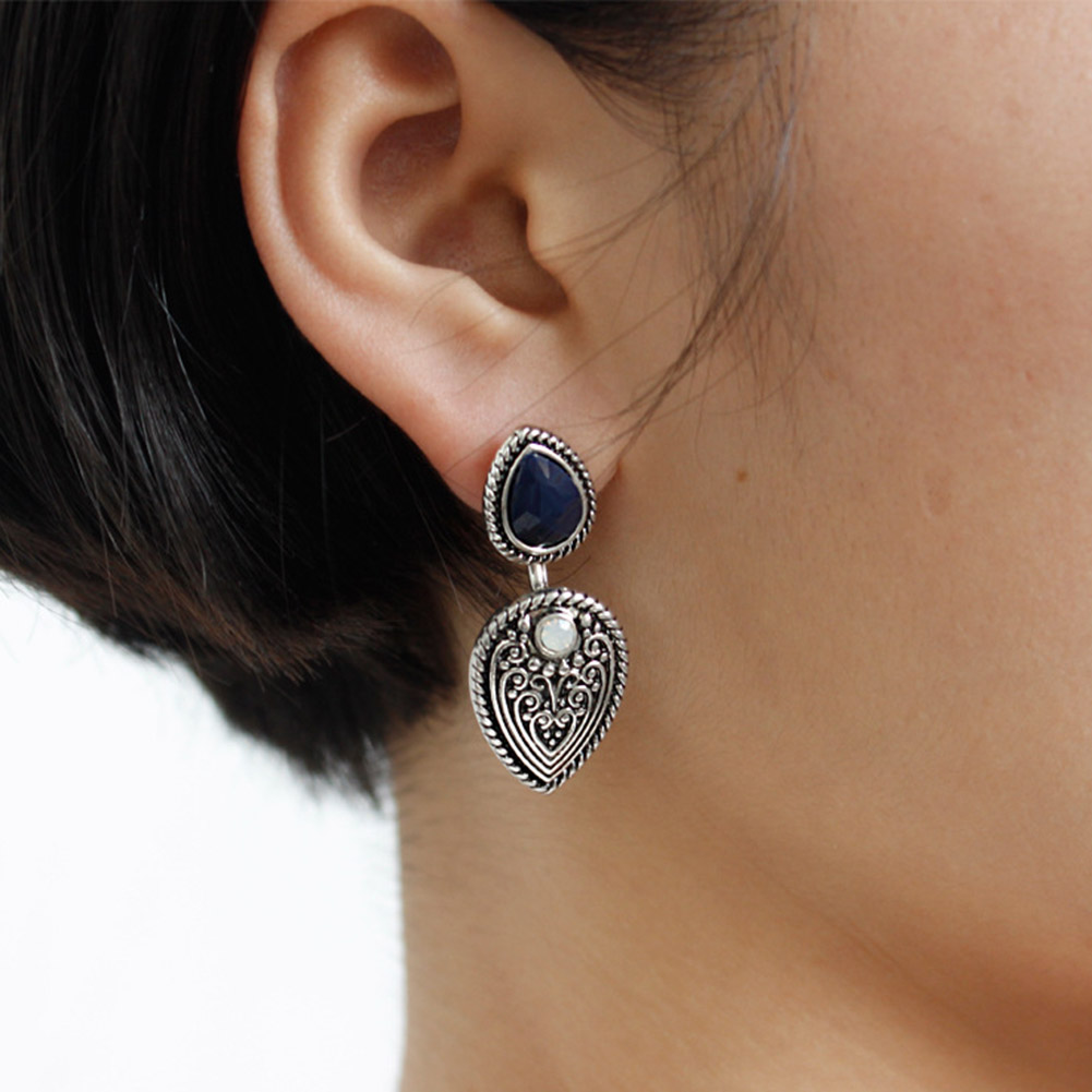 Available Special Studs Earrings Handmade Feather/Leaf Sculpt Faddish High Quality