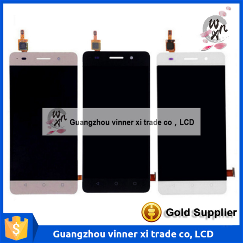 Подробнее о Touch Screen Digitizer + LCD Display Assembly For Huawei Honor 4C replacement parts phone lcd display for huawei honor 4c lcd touch digitizer assembly for huawei honor 4c screen lcd display