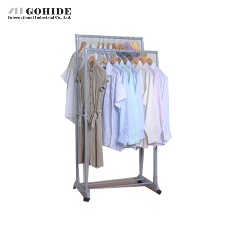 Gohide Home Furniture Yj75-2 Hanger Combination Racks Drying Rack Coat Racks Living Room Furniture Folding Furniture