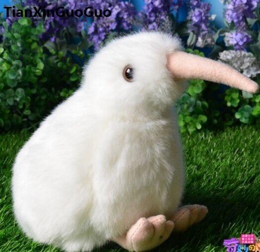 About 18cm White Kiwi Bird New Zealand National Plush Toy Soft Doll Baby Birthday Gift W0916