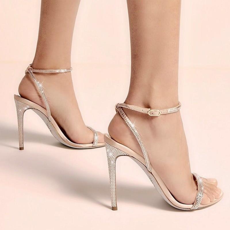 Elegant Womens Multi Color Buckle Sandals Open Toe Party Prom Block Heels Shoe