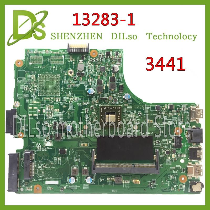 KEFU 13283-1 for dell 3441 3541 laptop motherboard Dell Cedar MB 13283-1 motherboard DDR3L  100% tested motherboard сумка клатч velina fabbiano цвет коричневый 13283 а901
