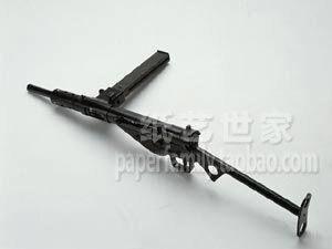 3D Бумажная Модель Sten автоматами 1:1 Огнестрельное Оружие Войны Ручной Головоломки Игрушки