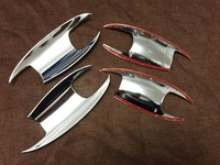 NEW!! 4pcs Chrome Door Handle Bowl Cover Trim For Mercedes Benz C292 GLE Coupe GLE320 GLE350d GLE400 GLE450 Coupe Only !