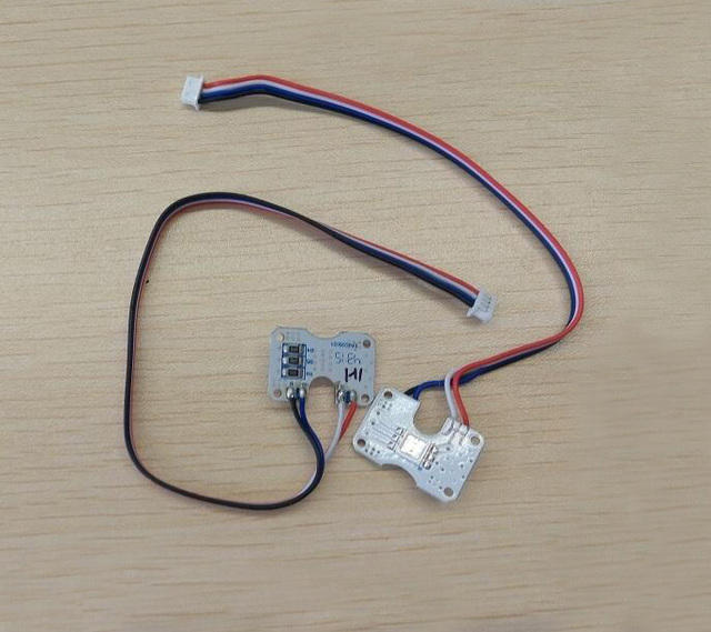 free shipping spare parts original led light board module with cable LED Strip Wiring free shipping spare parts original led light board module with cable wire for hubsan h501s drone quadrocopter mini fpv