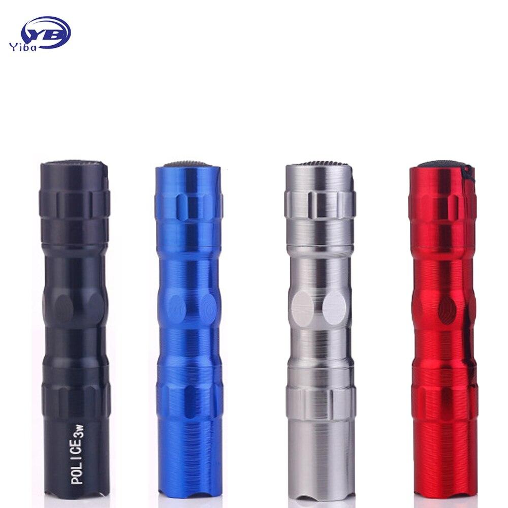 YB Yiba Mini Penlight 2000LM Waterproof LED Flashlight Torch Modes Non Adjustable Focus Lantern Portable Light Use AA 14500