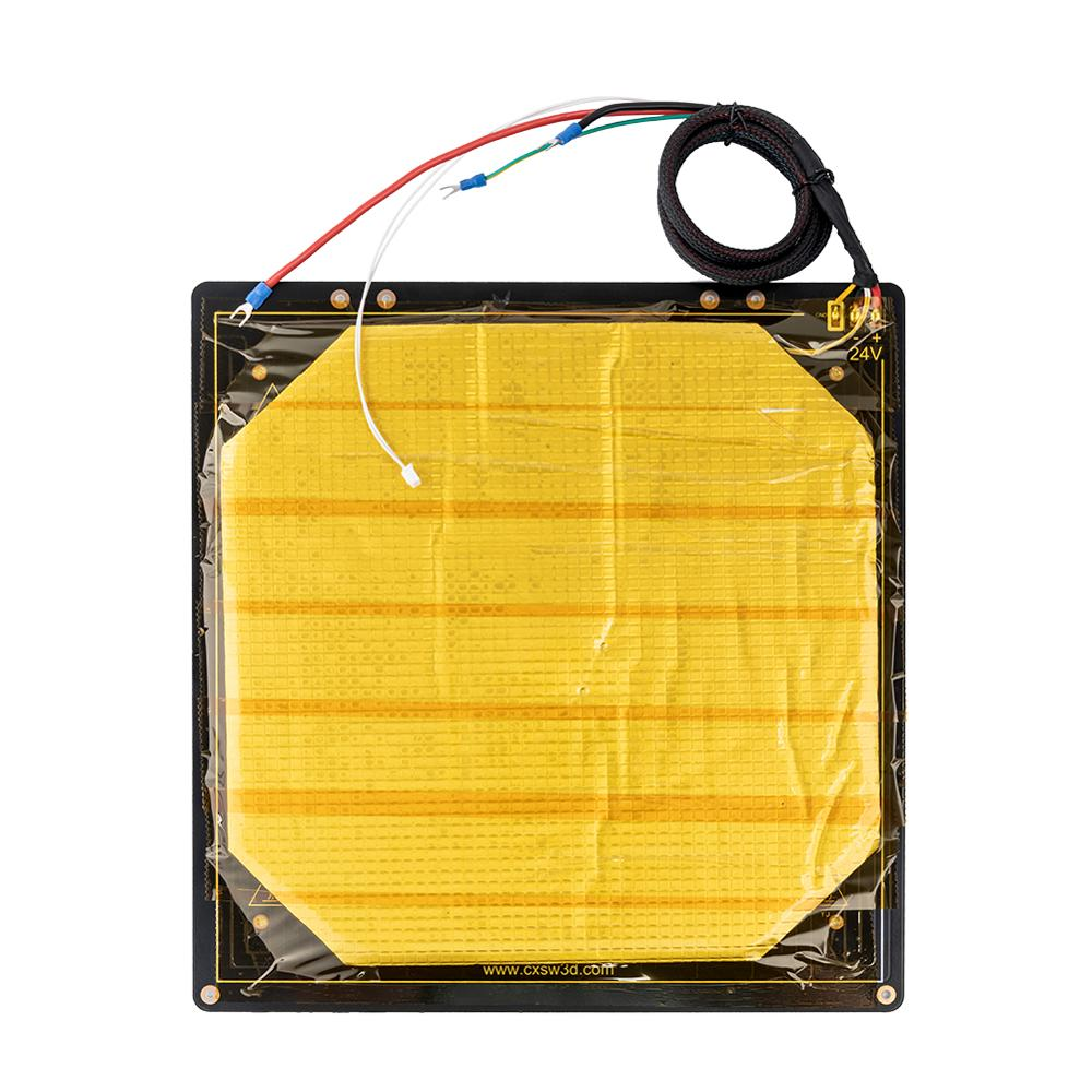 Factory Supply Creality 3D Parts Black Heated bed plate for CREALITY 3D CR 10S Pro Size