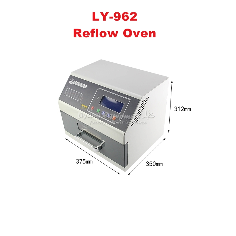 Wholesale Desktop Automatic LY962 IC Heater Infrared Reflow Wave Oven 700W soldering heating equipment