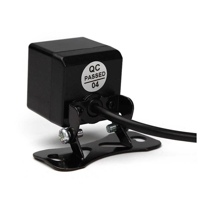 Envío Gratis cámara de visión trasera de coche HD CCD visión nocturna Universal aparcamiento inverso coche impermeable cámara de visión trasera NTSC sistema de TV