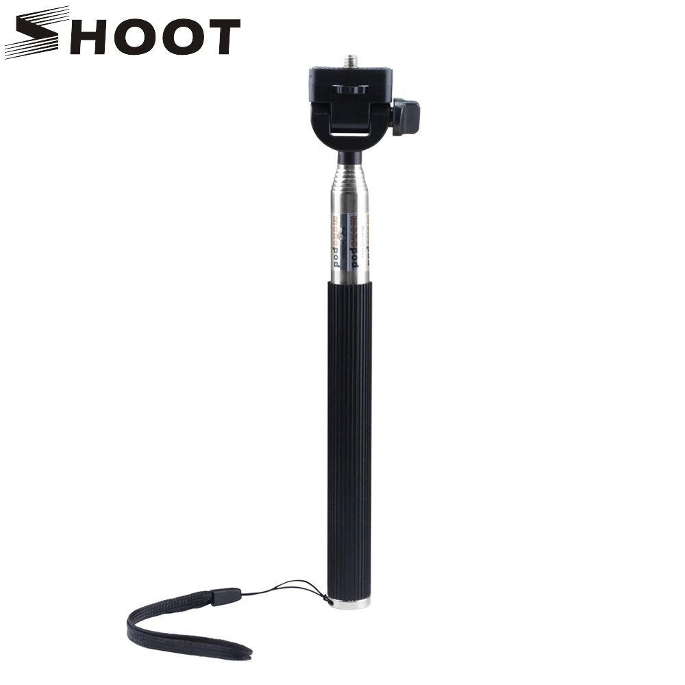 gopro go pro Selfie Stick For iPhone 7 6 Samsung Huawei Phone Gopro Monopod Yi 4K SJCAM SJ4000 action camera Selfie Stick