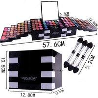 Make Up Set 142 Color Glitter Eyeshadow Pallete Shadows Professional Makeup Box Matte Eye Shadow Blush Eyebrow Palette