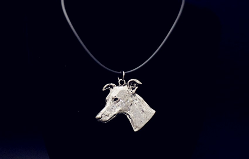 Boho Chic retro Whippet necklace jewelry Greyhound dog necklace Pet Charms