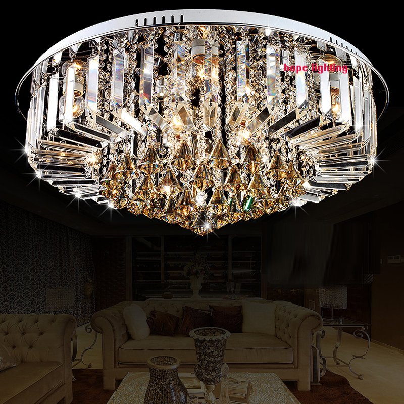 modern led luxury crystal lamp for dinning room drawing room