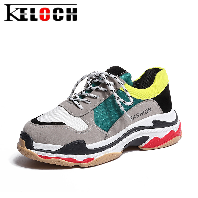 Keloch 2018 New Women Casual Shoes Spring Mesh Platform ...