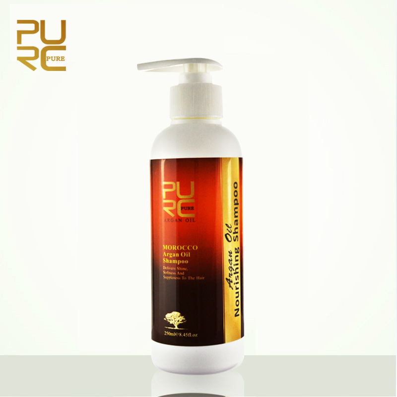 PURC Argan Oil Hair Shampoo Hair Care For Keratin