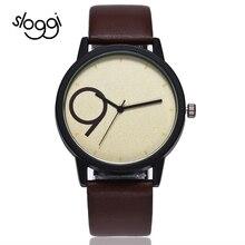 Sloggi личности Повседневное унисекс часы кожа кварцевые платье Для женщин часы пары Наручные часы мужские Relojes HOMBRE Reloj-Mujer