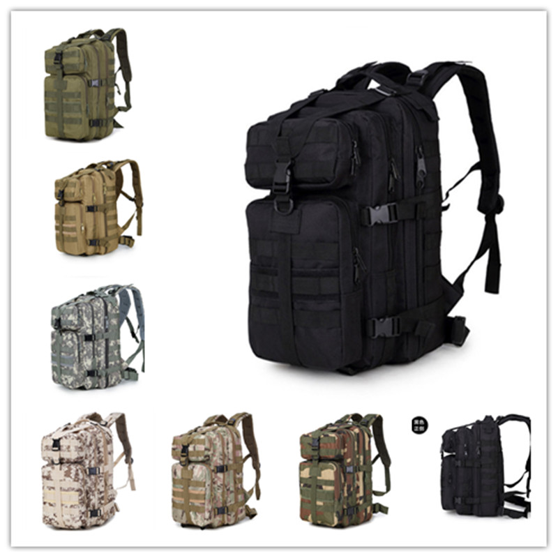 Men Trekking Sport Travel Rucksacks Camping Hiking Camouflage Bag Detachable Oxford Outdoor Military Army Tactical Backpack стоимость