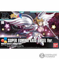 OHS Bandai HG Build Fighters 054 1/144 Super Fumina Axis Angel Ver. Minato Sakais Mobile Suit Assembly Model Kits