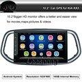 Android Quad Core NO-DVD Player Embutido de Navegação GPS Do Carro do bluetooth apoio WIFI Espelho Link Som Do Carro Especial para KIA KX3