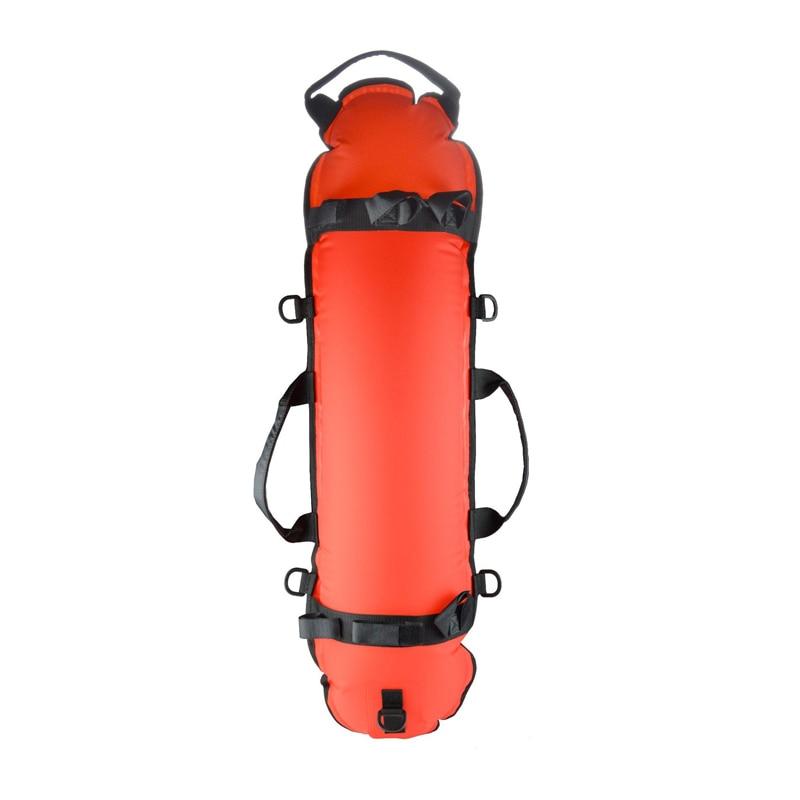 KEEP DIVING Taucher Tauchen aufblasbare Torpedo Boje Signal Float Ball /& Flagge