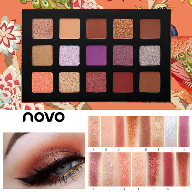 Eye Shadow Brand New Matte Shimmer Shining Eyeshadow Palette Nude Makeup Glitter Pigment Smoky Eye Shadow Powder Waterproof Cosmetic Kit Fast Color Beauty Essentials