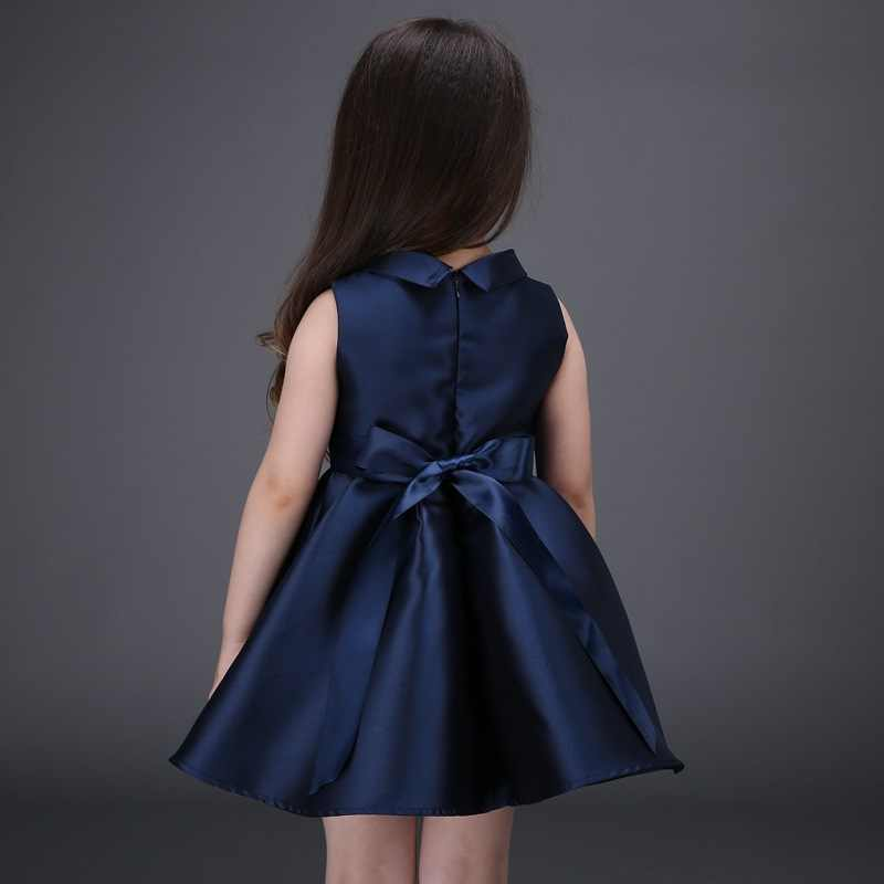 2b162be71c ... 2016 Spring and Summer Girls Dress Chinese style Flower Embroidered Princess  Dress Baby Party Frocks Designs ...