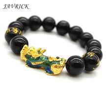 цены на Mood Color Change Bracelet Chinese Pixiu Mantra Beads Bracelet Lucky Amulet Jewelry Unisex  в интернет-магазинах