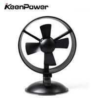 Keenpower Micro USB Fan For Car Mini Portable Fan Mini Summer Car Mini Air Cooling Fan