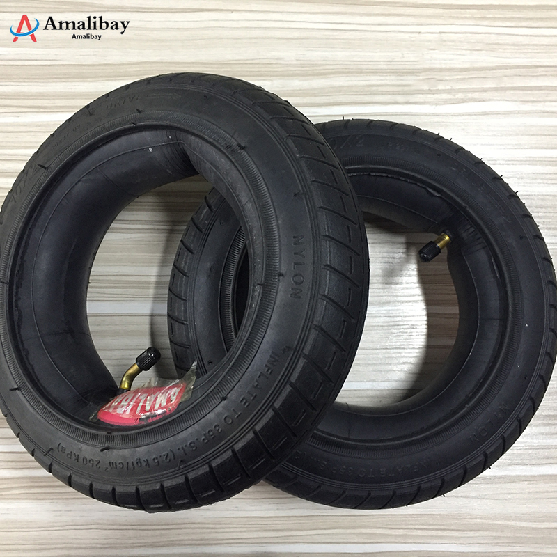 10 Inches Updated Xiaomi M365 Tire Scooter New Version Tyre Inflation Wheel Tubes Outer Tires For Xiaomi M365 Electric Scooter(China)