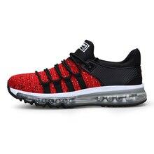 Мужская обувь для бега, легкая дышащая Спортивная обувь для мужчин, кроссовки для бега, прогулочная обувь, большие размеры 39-47 001